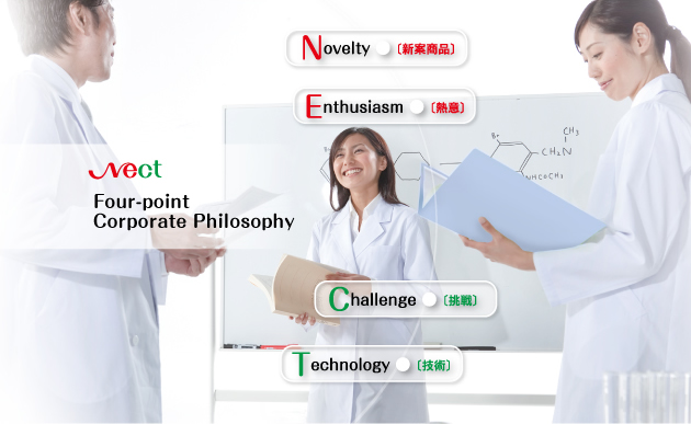 Nect Four-point Corporate Philosophy