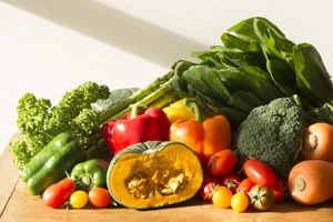 People who consume insufficient amounts of green-yellow vegetables